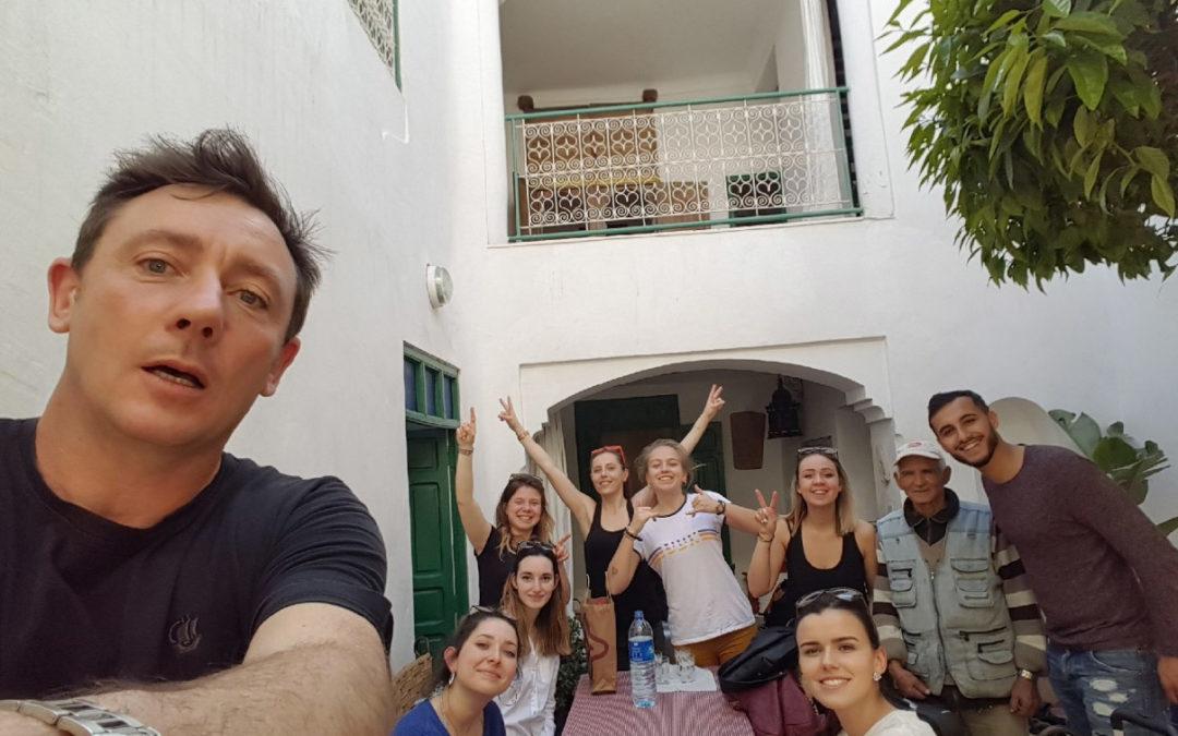 Voyage de classe au Maroc