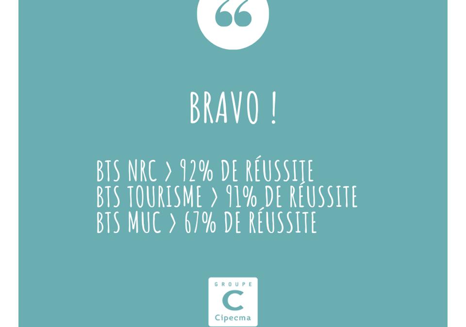 Bravo aux promotions 2019 de l'école !