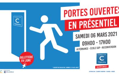 Samedi 06 mars 2021 : portes ouvertes en présentiel à Châtelaillon !